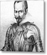 Pedro De Alvarado (1495?-1541) Metal Print