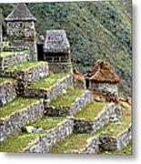 Peru: Machu Picchu Metal Print