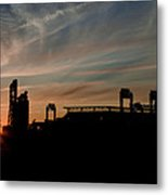 Phillies Stadium At Dawn Metal Print by Bill Cannon