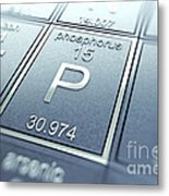 Phosphorus Chemical Element Metal Print