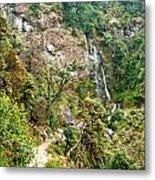 Photeng Waterfall Metal Print