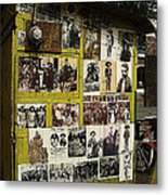 Photos Mexican Revolution Street Photographer's Shed Nogales Sonora Mexico 2003 Metal Print