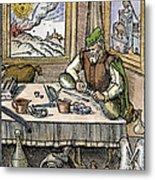 Physician, 1576 Metal Print