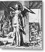 Physician As Angel Metal Print