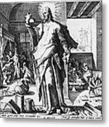 Physician As God Metal Print