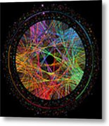 Pi Transition Paths Metal Print