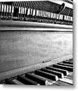 Piano Metal Print by Thomas Leon