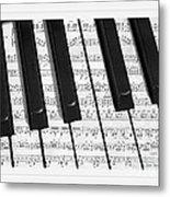 Pianoforte Metal Print