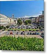 Piazza Della Vittoria - Genova Metal Print