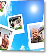 Pictures Of Happy Family Metal Print