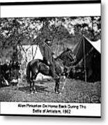 Pinkerton Man Metal Print