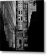 Pioneer Square Alleyway Metal Print
