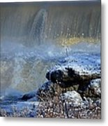 Pipe Creek Falls Metal Print