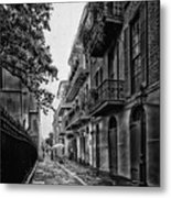 Pirate's Alley In New Orleans Metal Print
