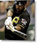 Pittsburgh Pirates V Milwaukee Brewers Metal Print