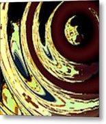 Planetoidal Amplitude Metal Print