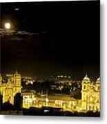 Plaza De Armas Cuzco Peru Metal Print