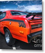 Plymouth Duster 340 Metal Print