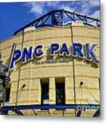 Pnc Park Baseball Stadium Pittsburgh Pennsylvania Metal Print