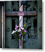 The French Cross Metal Print