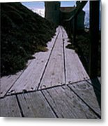 Point Conception Lighthouse Metal Print