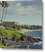 Polo Beach Wailea Point Maui Hawaii Metal Print