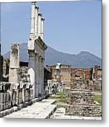 Pompeii Metal Print