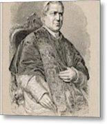 Pope Pius Ix (conde Giovanni Maria Metal Print