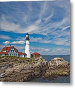 Portland Lighthouse Metal Print