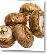 Portobello Mushrooms Metal Print
