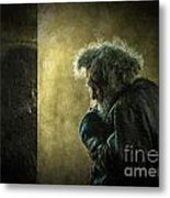 Portrait Of The Homeless Metal Print