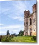 Powderham Castle Metal Print