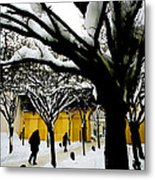Prague Winter  Metal Print