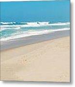 Praia Del Rey Beach Metal Print