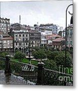 Praza Da Ferreria In Pontevedra Metal Print