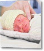Premature Baby Metal Print