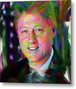 President William J. Clinton Metal Print by Official White House Photograph