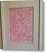 Pretty And Pink Metal Print