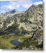 Prevalski And Valyavishki Lakes Pirin National Park Bulgaria  Metal Print