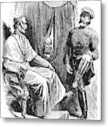 Prince Otto Von Bismarck (1815-1898) Metal Print