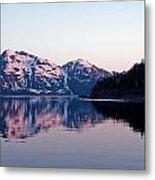 Prince William Sound Reflections Metal Print