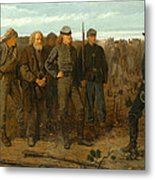 Prisoners From The Front Metal Print