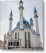 Qolsharif Mosque Metal Print