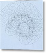 Quantum Nautilus Metal Print