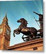 Queen Bodica Statue In London Metal Print