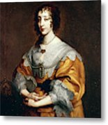 Queen Henrietta Maria Metal Print