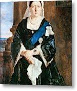 Queen Victoria Of England (1819-1901) Metal Print