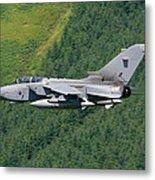 Raf Tornado - Low Level Metal Print