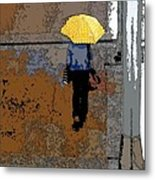 Rainy Days And Mondays Metal Print by David Bearden