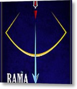 Rama The Avatar Metal Print by Tim Gainey